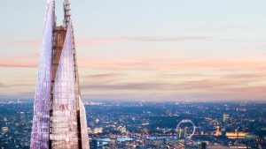 cheap flights from dublin to london 2018 - the view of the shard london