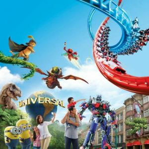 cheap flights from yangon to singapore - universal studios